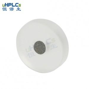 恒谱生超高压PCTFE液相色谱耗材不锈钢在线过滤器筛板,OD6.4*ID1.6*H1.6