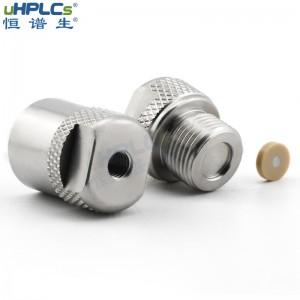 恒谱生4.6#分析在线过滤器适用于HPLC泵和脱气机备件的液相在线过滤器