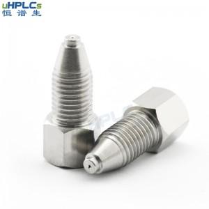 可重复使用不锈钢超高压螺丝接头