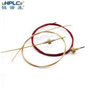 "PEEK毛细管HPLC液相色谱1/16""连接管路管线依利特安捷伦配 ID*1mm"