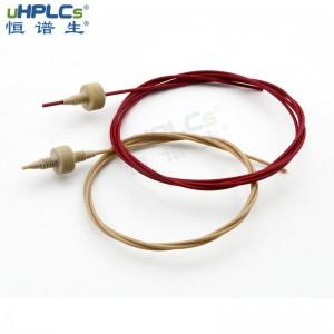 恒谱生1/16英寸PEEK管液相色谱仪管线,色谱保护柱peek连接配件 ID*0.13mm