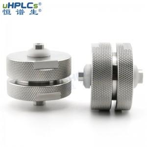 恒谱生30mm中高低压工业型HPLC液相色谱制备柱用预柱保护柱c18 C8 C4,30#