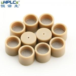 恒谱生液相色谱耗材色谱柱PEEK筛板,小孔2.1,3.0,4.0,4.6,10mm