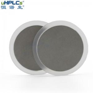 恒谱生超高压PCTFE不锈钢在线过滤器筛板液相色谱耗材,OD22.4*ID19.0*H1.6