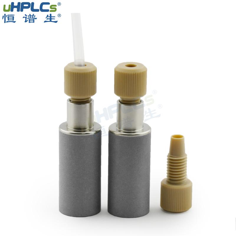 用于液相色谱分析仪HPLC通用性PEEK入口溶剂过滤器 Featured Image