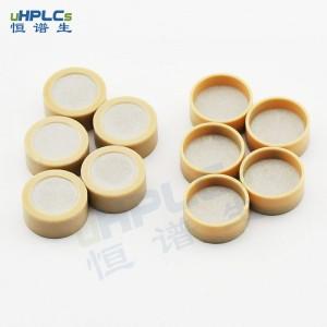 恒谱生PEEK杯柱筛板高精过滤医疗级材质